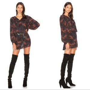 Revolve Sanctuary Belle Boho Dress Parisian